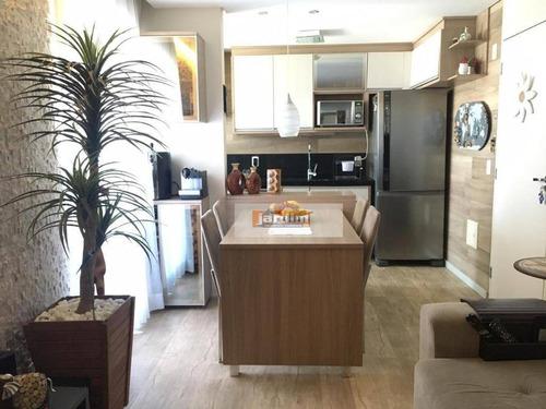 Apartamento Com 2 Dormitórios À Venda, 49 M² - Planalto - São Bernardo Do Campo/sp - Ap5913