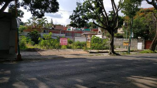 Imagen 1 de 5 de Terreno -  Miraval, Venta, Esquina, Uso Comercial, Avenida Domingo Diez,  Cuernavaca