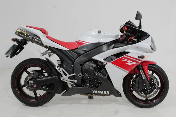 Yamaha Yzf R1 2008 Branca