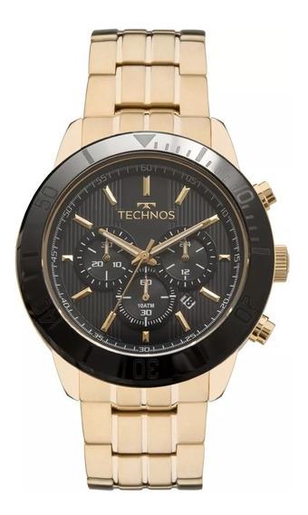 Relógio Technos Masculino Cerâmica Vidro Safira Js25br/4p