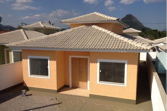 Casa Com 3 Dormitórios À Venda, 110 M² Por R$ 270.000 - Barroco (itaipuaçu) - Maricá/rj - Ca0748