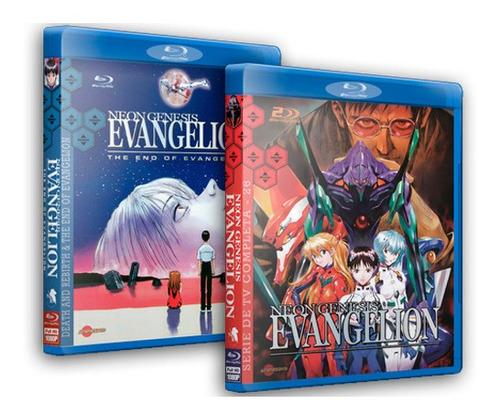 Neon Genesis Evangelion Completo Em Blu-ray Dublado