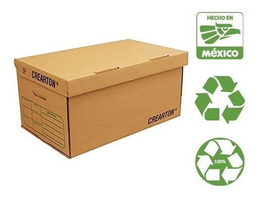 Caja Para Archivo Tamaño Carta(paq. De 5 Piezas) Ecológico