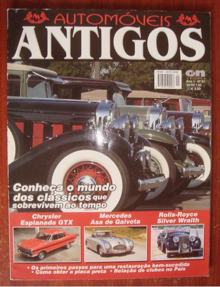 Revista Automóveis Antigos - N. 01 - Ano 1 - Raridade -