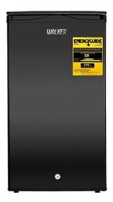 Minibar Walker Elegante 100 Litros Negro 3.5 Pies Llaves