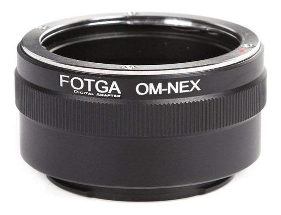 Adaptador Lente Olympus Om Nex Para Sony E-mount Nex +nf