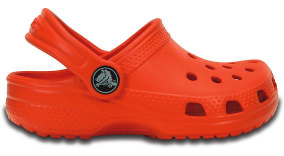 Zapato Crocs Infantil Classic K Naranja