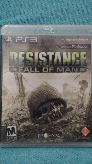 Resistance Fall Of Man Ps3 Mídia Física