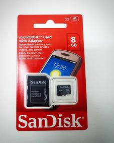 Cartão De Memoria Sandisk Microsdhc 8gb