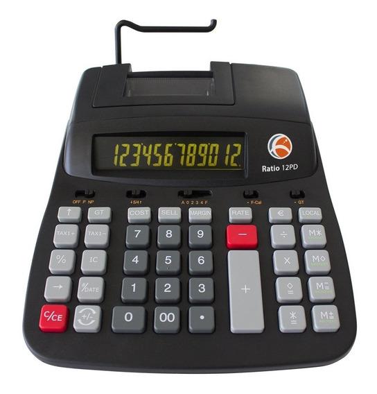 Calculadora Ratio 12pd - Profissional Térmica 12 Dígitos