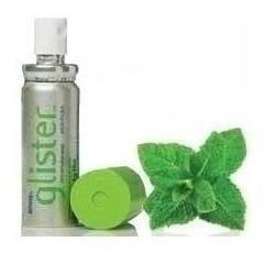 Spray Refrescante Bucal Glister-amway 9 Grs Importado Verde