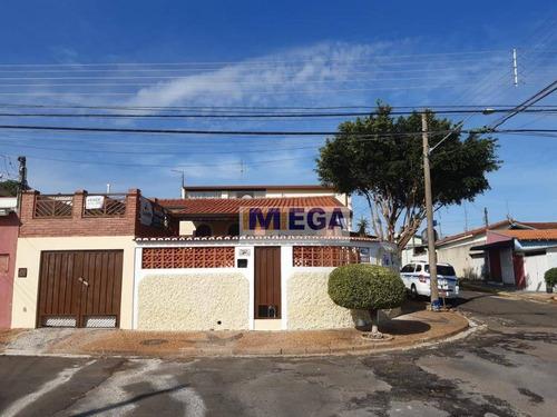 Casa Com 4 Dormitórios À Venda, 191 M² Por R$ 477.000 - Vila Miguel Vicente Cury - Campinas/sp - Ca2275
