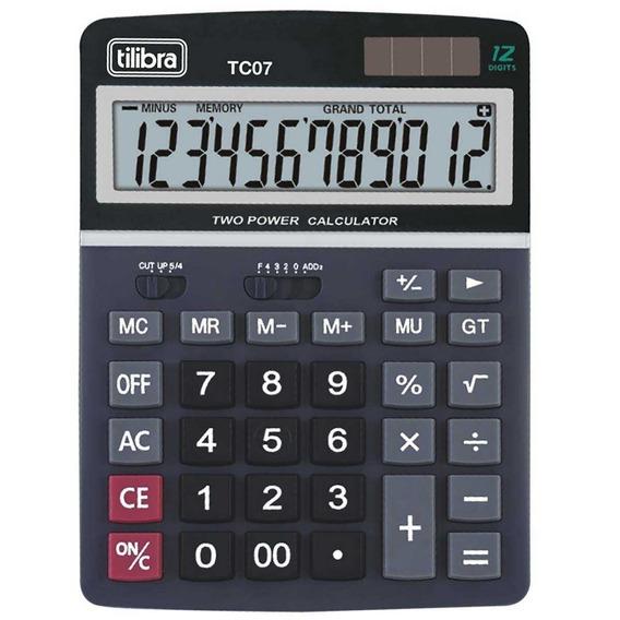 Calculadora De Mesa Tc07 Tilibra