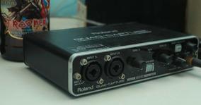 Interface De Áudio Roland Quad Capture - Frete Grátis