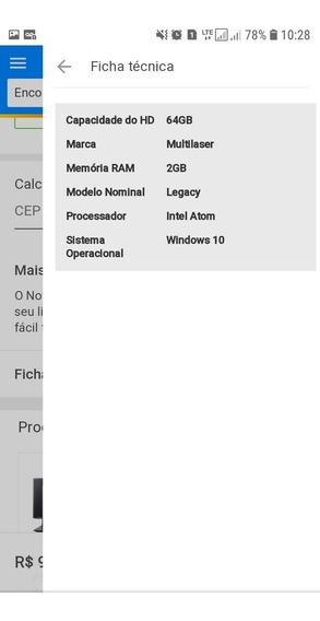 Vende Se Notebook Multilaser