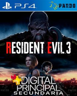 Resident Evil 3 Ps4 Plus Gratis Digital Pardo