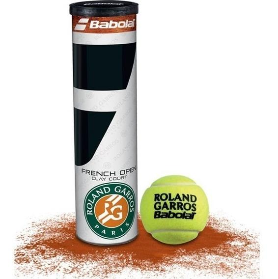 Pelotas Babolat Tenis Open Roland Garros X4