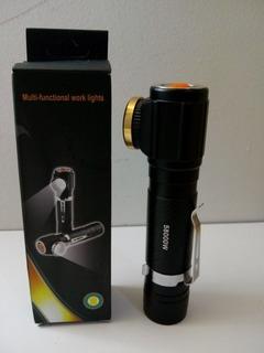 Lanterna Multifuncional Usb Modelo B-max 8499 Luz Lateral