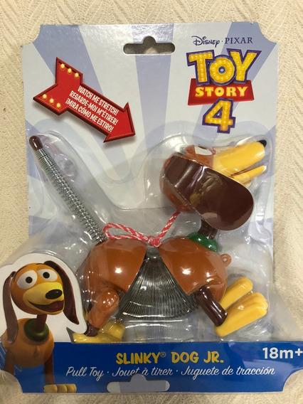 Toy Story 4 Slinky Jr Cachorro De Mola Original Disney Pixar