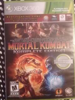 Mortal Combat Komplete Edition Xbox 360 Como Nuevo