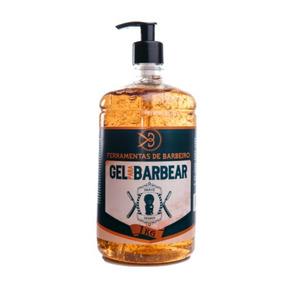 Shaving Gel De Barbear Transparente 1kg Cosmético Barbearia