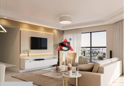 Apartamento Com 4 Dormitórios À Venda, 184 M² Por R$ 2.250.000,00 - Perdizes - São Paulo/sp - Ap40676