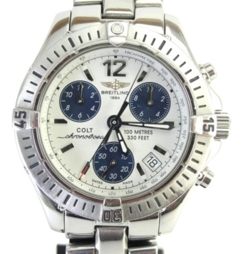 Relógio Breitling Colt Chrono Ocean A53050 - Original