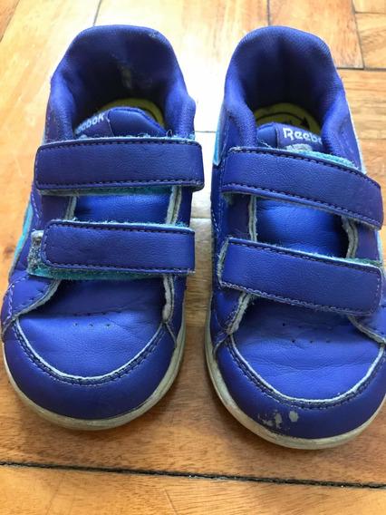 Zapatillas De Niños Reebok Talle Eur 22 Usa 6, Importadas