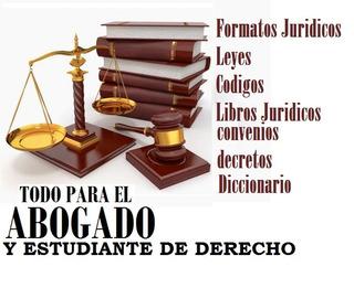 Formatos Juridicos En Word ,leyes,codigos Y Mas
