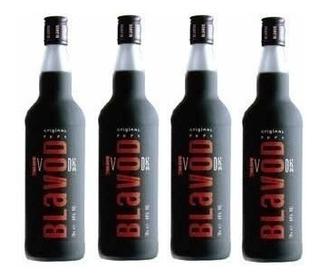 Vodka Blavod 750ml (4 Garrafas Promoção) Com Selo Ipi