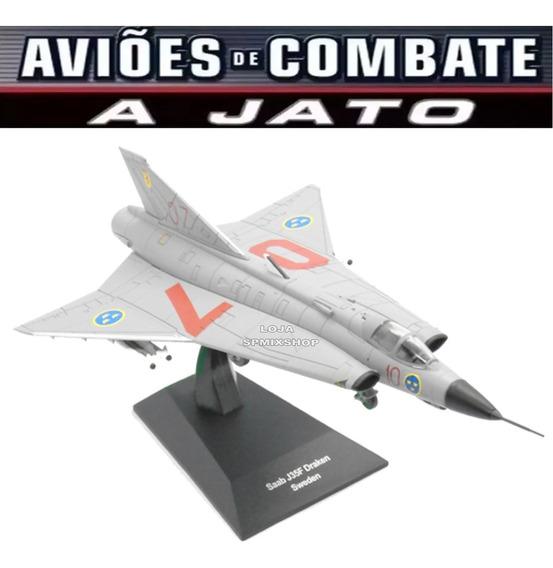 Aviao Combate Jato Saab J35 Draken (suécia) 1/72