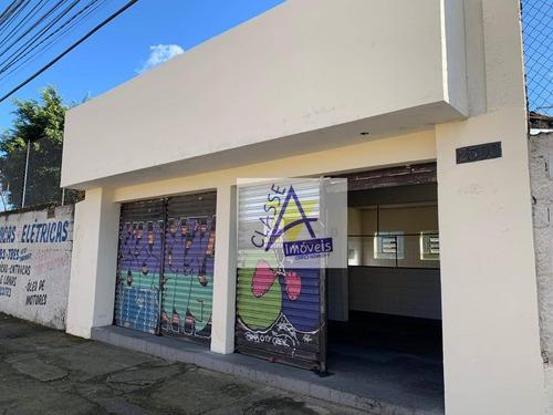 Imagem 1 de 7 de Salão Para Alugar, 70 M² Por R$ 1.500,00/mês - Capuava - Mauá/sp - Sl0041