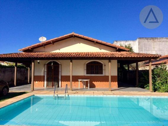 Casa 4 Quartos Para Alugar, 209 M² Por R$ 2.000/mês - Extensão Do Bosque - Rio Das Ostras/rj - Ca0962