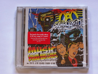Cd Aerosmith Music From Another Dimension Importado Europeu