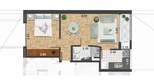 Apartamento Ponce Y Palmar 1 Dorm. (garage Opcional)