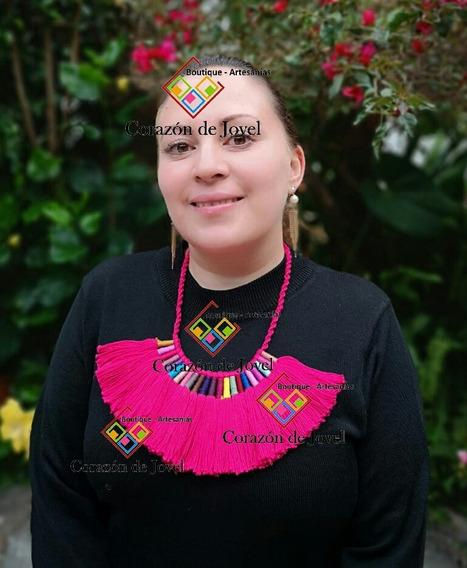 12 Collares Artesanales Mexicanos Hechos A Mano En Chiapas