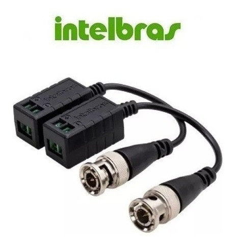 Vídeo Balun Intelbras Vb501 Hd 720p 1080p 4 Pares
