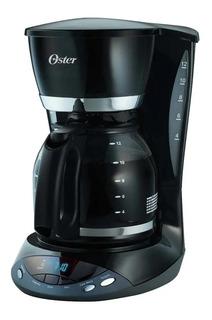 Cafetera Oster12 Tazas Programable Jarra Vidrio Bvstdcdwx20b