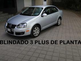 Volkswagen Bora Blindado De Planta Nivel 3 Plus 2009 (nuevo)