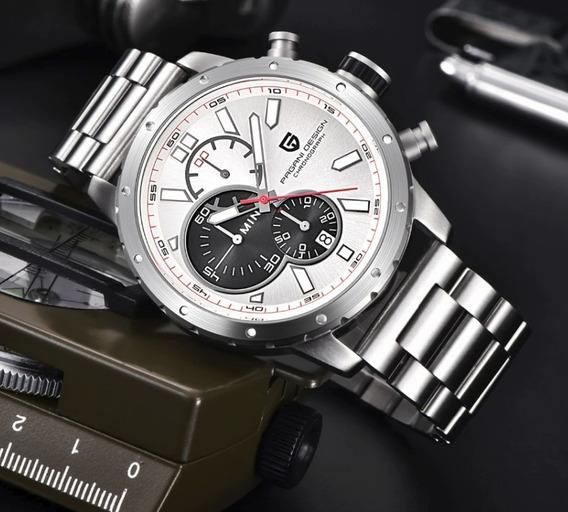 Relógio - Pagani - Original - 46mm - Aço Inox - Em Estoque
