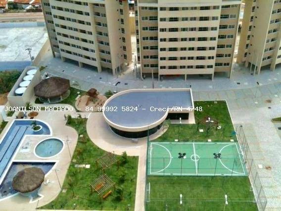 Apartamento Para Venda Em Natal, Pitimbu/satélite - Natal Brisa Condomínio Clube, 3 Dormitórios, 3 Suítes, 4 Banheiros, 2 Vagas - Ap0964-natal Brisa 3q
