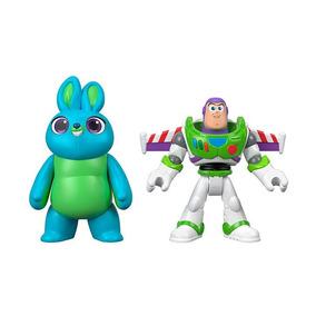 Conjunto Mini Boneco Basico Toy Story 4 - Bunny E Buzz Light