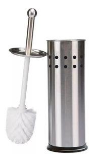 Cepillo Escobilla Para Baño Acero Inoxidable Inodoro