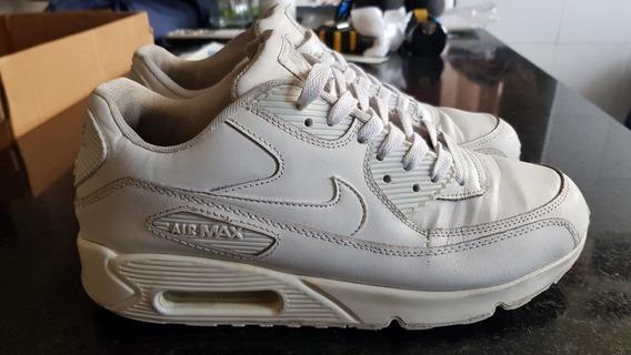 Nike Air Max 90 Leather Zapatillas Originales Blancas