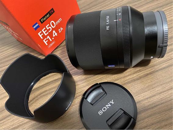 Lente Sony 50mm F/1.4 Zeiss Planar