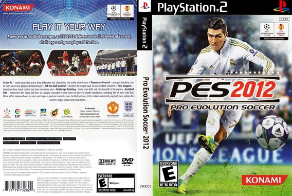 Patch Pes 2012 Ps2