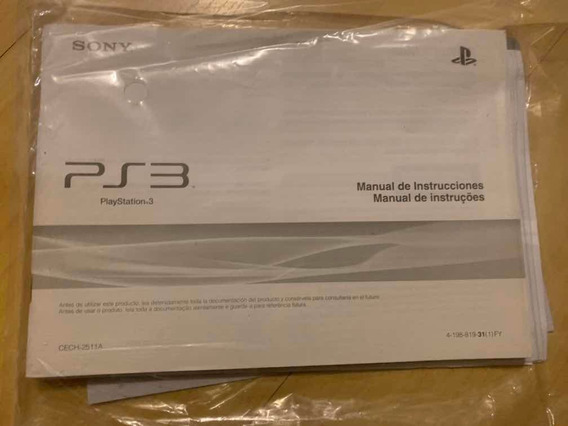 Manual Do Usuário Guia De Referência Etc Playstation 3 Ps3