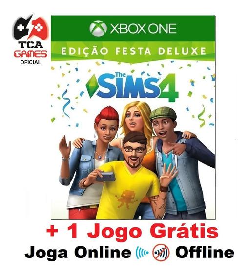 The Sims 4 Xbox One Midia Digital Edição Festa Deluxe
