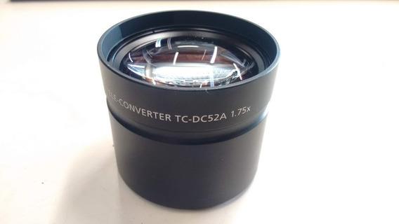 Lente Teleconversora 1.75x Canon Tc-dc52a Rosca 52mm, Tampa