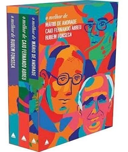 Livros - Box Mário De Andrade, Caio Abreu E Rubem Fonseca